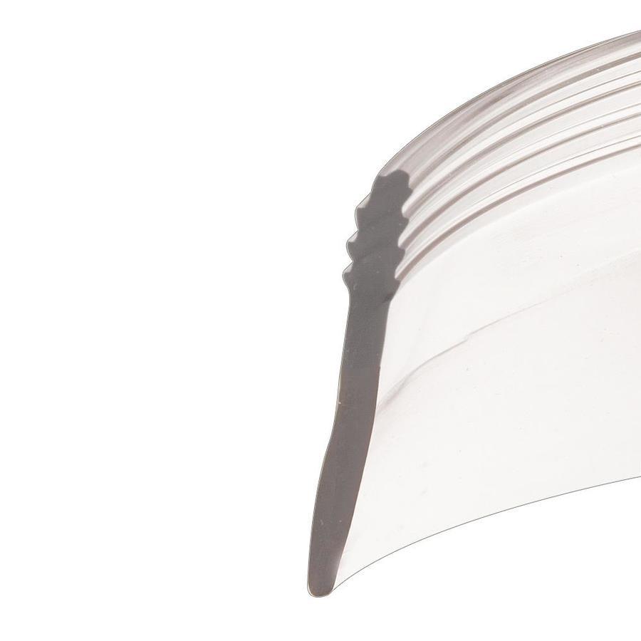 Prime-Line 1.43-in Clear Vinyl Hinged Shower Door Bottom Sweep