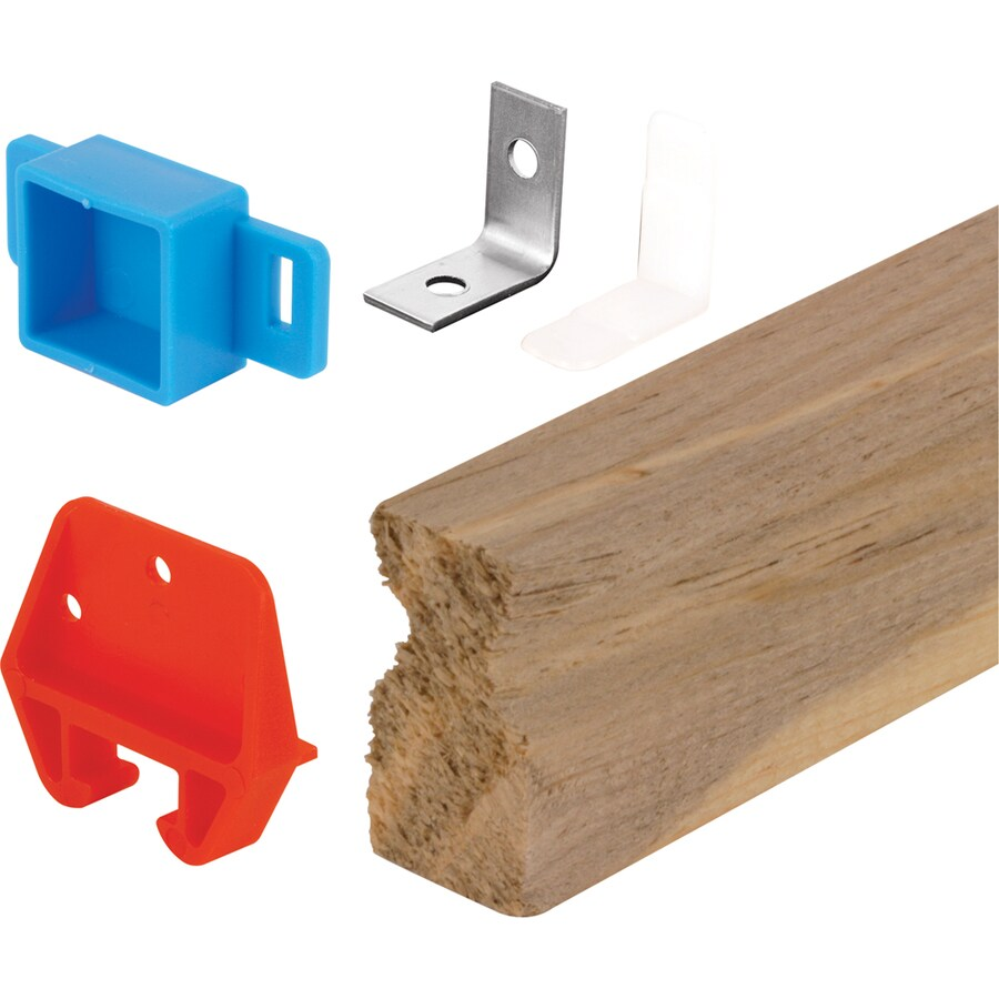 Prime-Line Wooden Drawer Track Replacement Kit