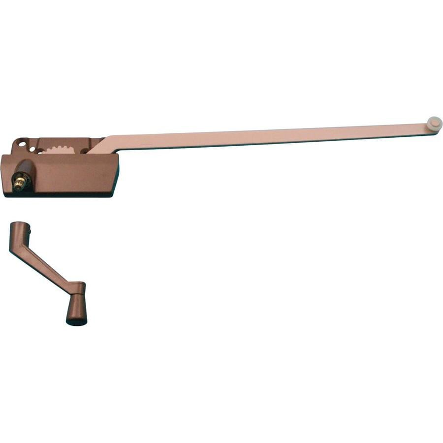 Prime-Line 13-1/2-in Bronze Painted Finish Right-Hand Casement Window Operator