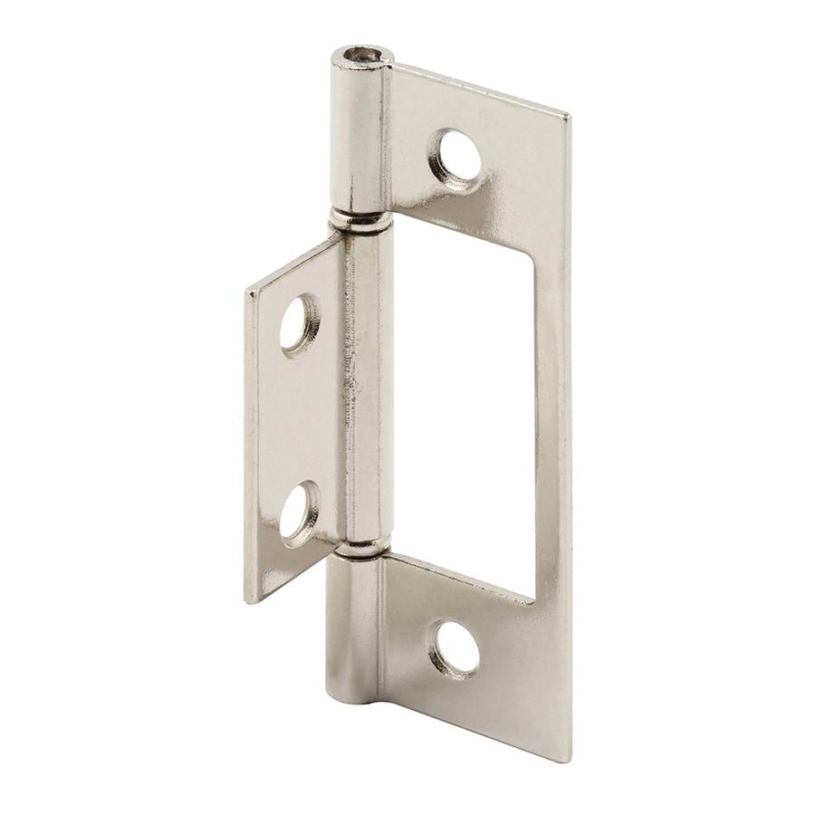 Prime-Line 2-Pack Satin Nickel Bifold Closet Door Hinge
