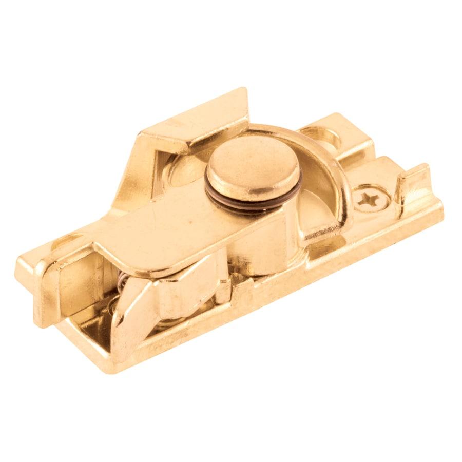 Gatehouse Brass-Plated Safety Sash Lock