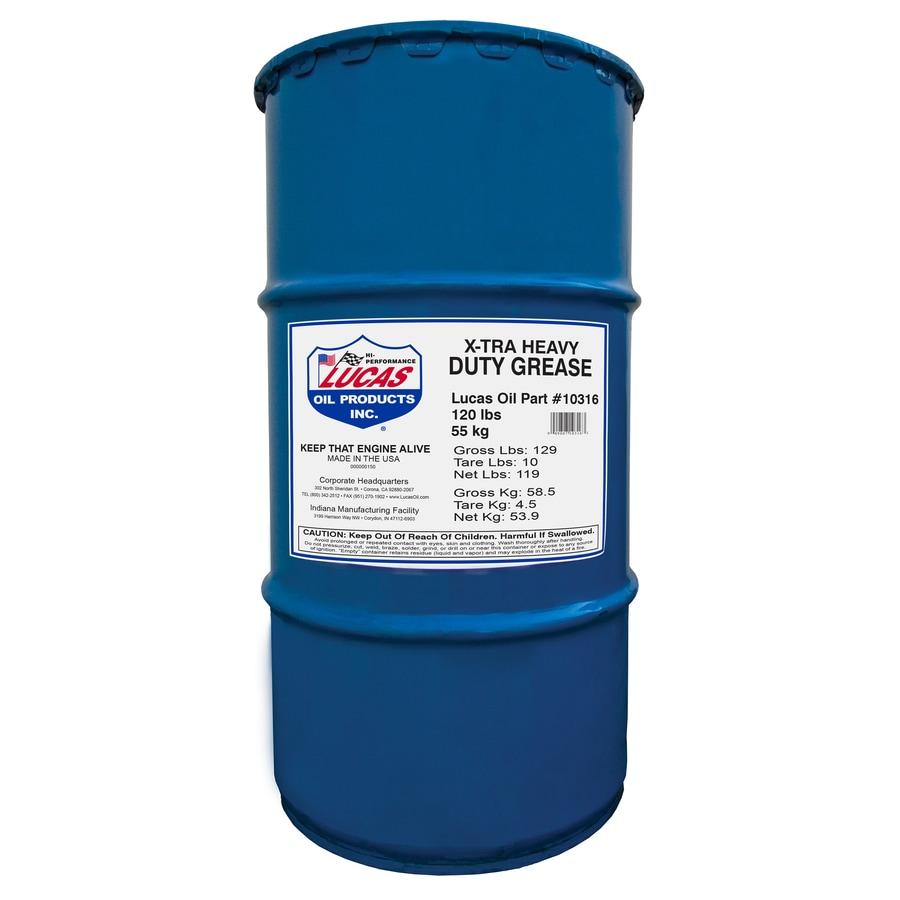 Lucas Oil Products 120-lb Xtra-Heavy Duty Grease Keg
