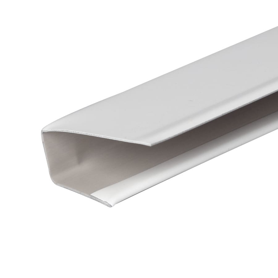 Amerimax 0.5-in x 144-in White J-Channel Metal Siding Trim