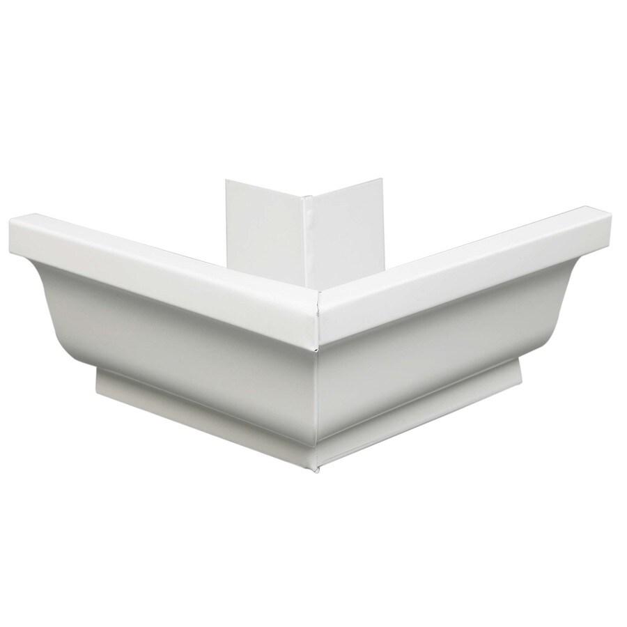 Amerimax 4-in x 7.25-in K Style Gutter Outside Corner