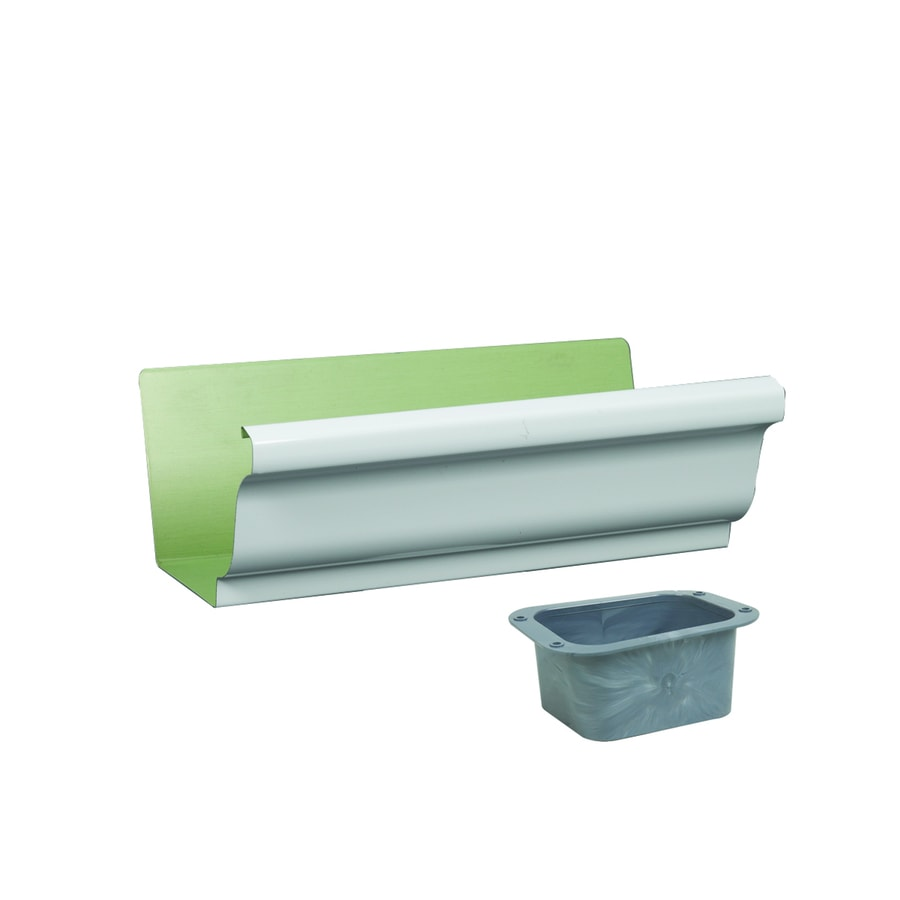 Amerimax 5-in x 10.5-in K Style Gutter End with Drop
