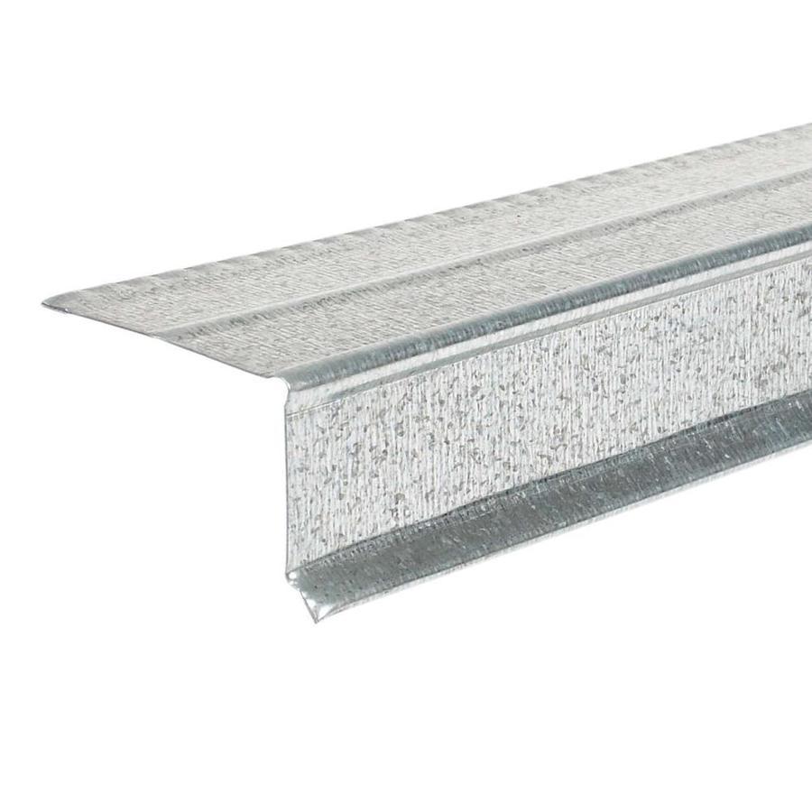 Amerimax 1.5-in x 10-ft Galvanized Steel Drip Edge