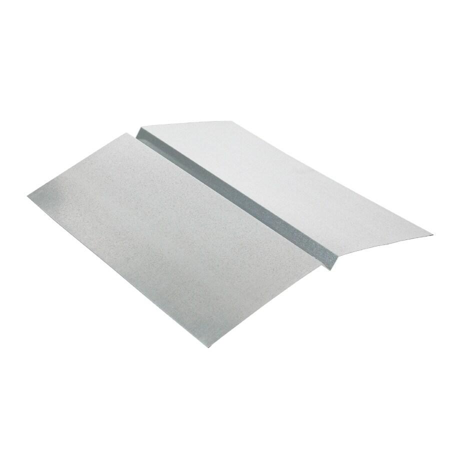 Amerimax W Valley 20-in x 10-ft Galvanized Steel Sheet Flashing