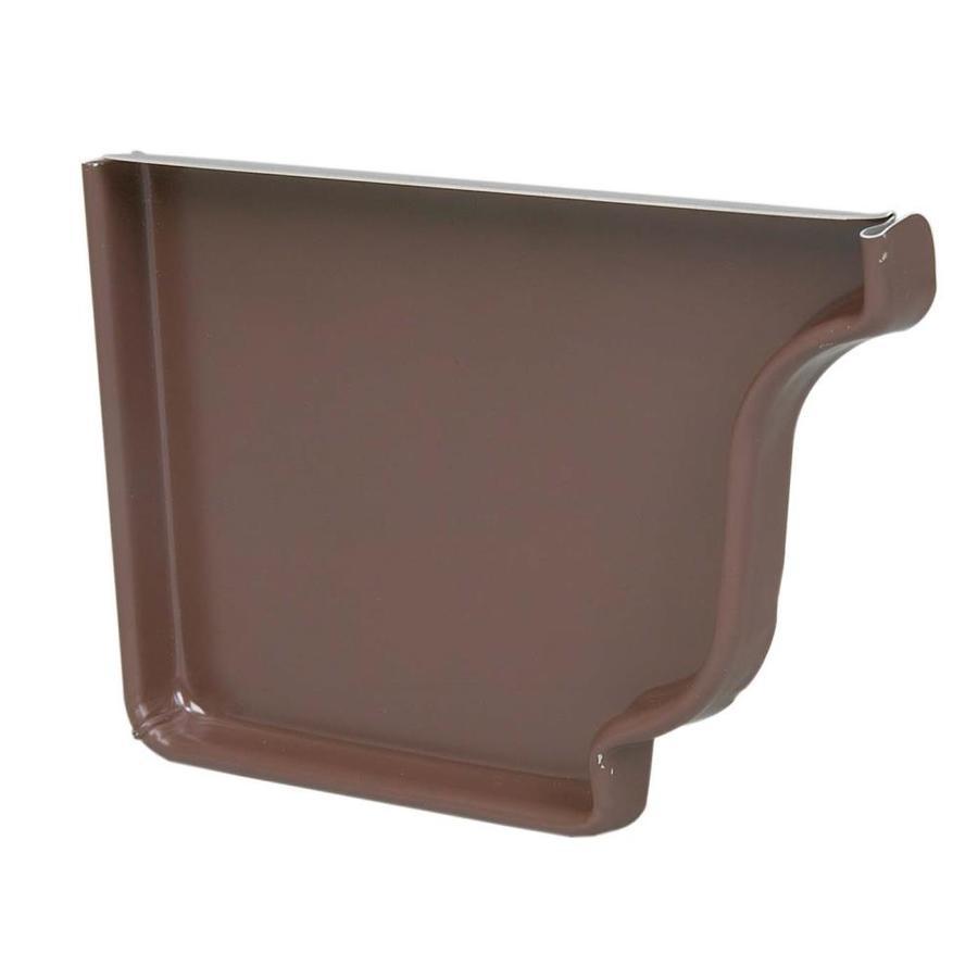 Amerimax Aluminum K Style Right Gutter End Cap