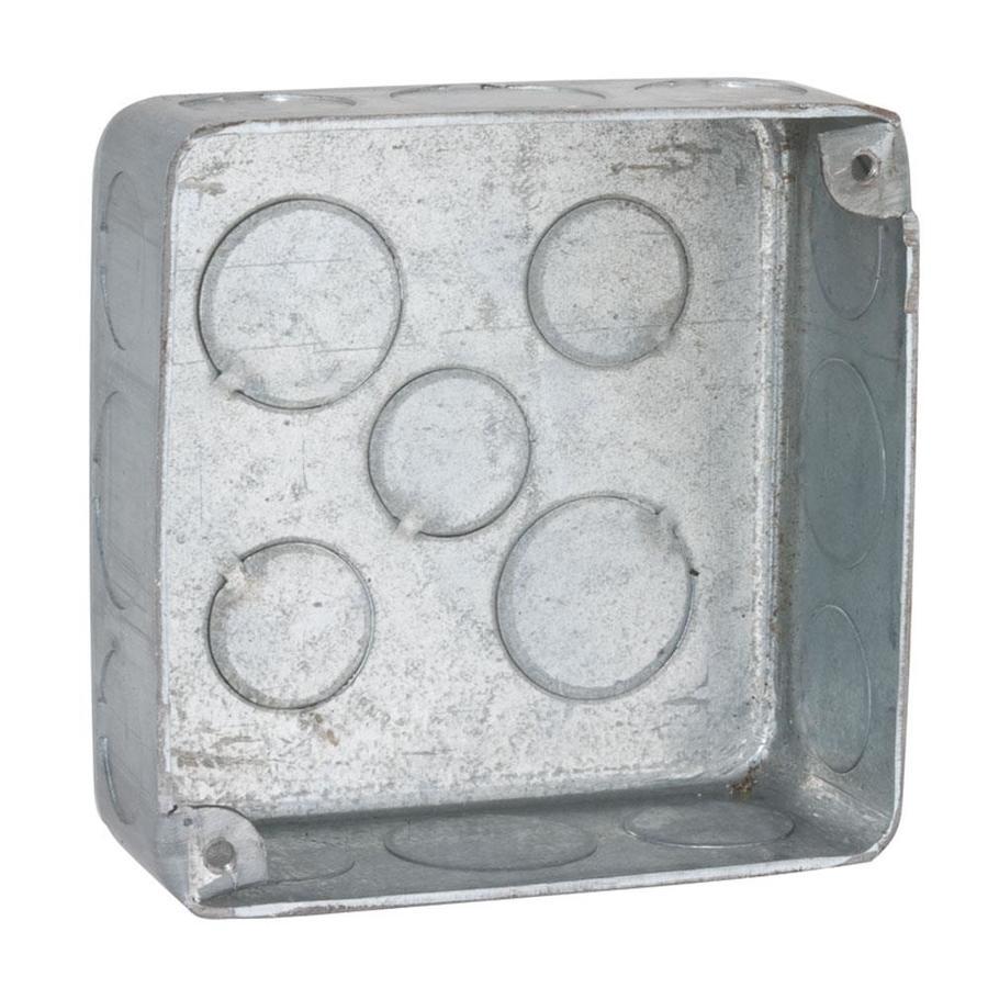 Raco 22.5 cu in 2-Gang Metal New Work Wall Electrical Box