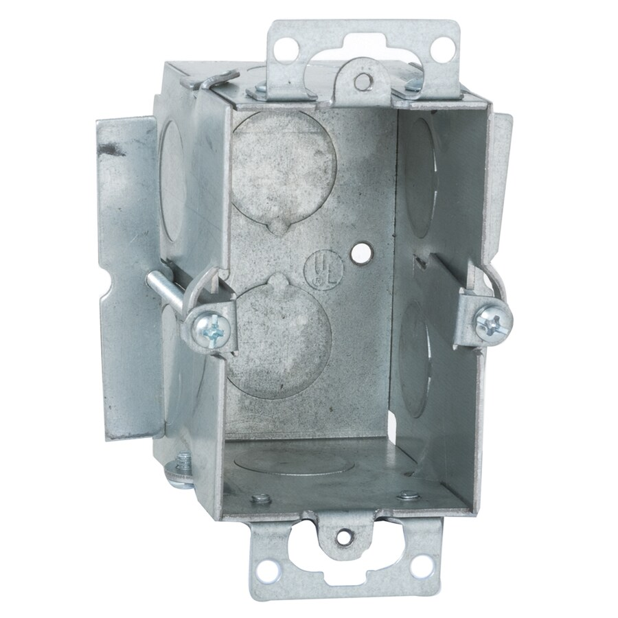 Raco 12.5-cu in 1-Gang Metal Switch Low Voltage Wall Electrical Box
