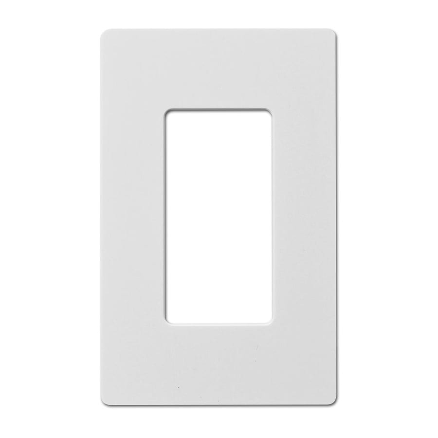 Hubbell 1-Gang White Single Decorator Wall Plate