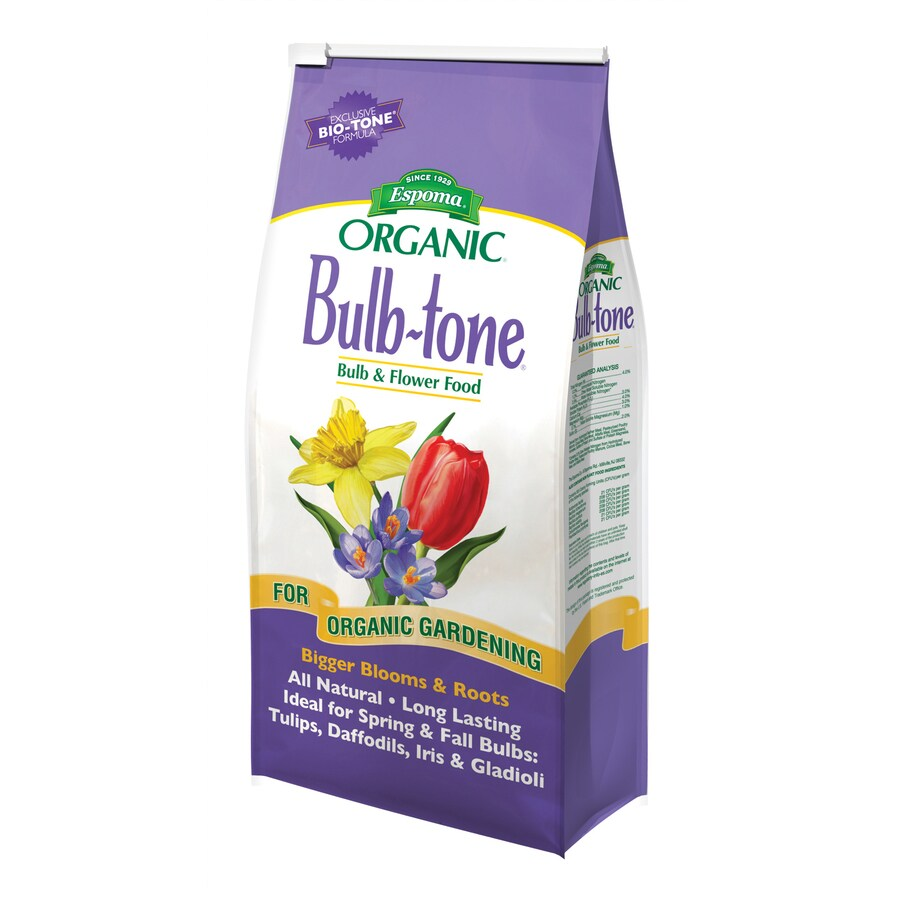 Espoma Bulb-Tone 4-lb Organic/Natural Flower and Vegetable Food (3-5-3)