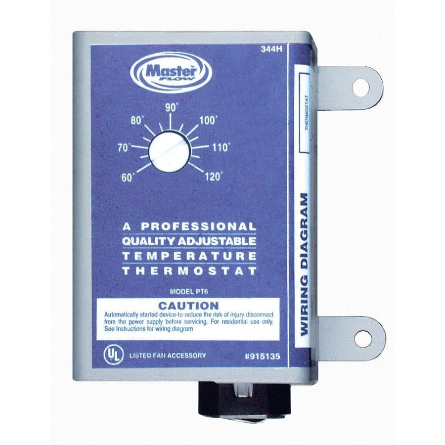 Master Flow Power Roof Vent Thermostat