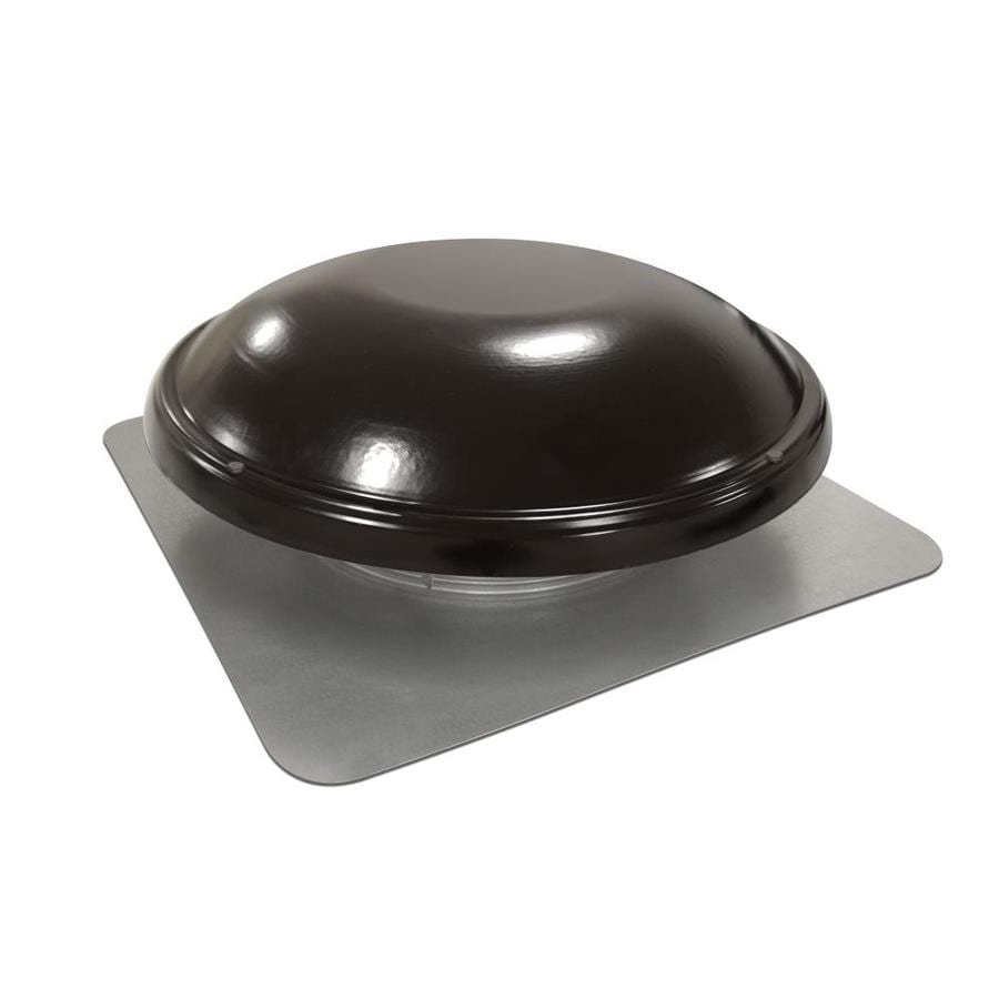 Master Flow 1,000-CFM Black Galvanized Steel Electric Power Roof Vent