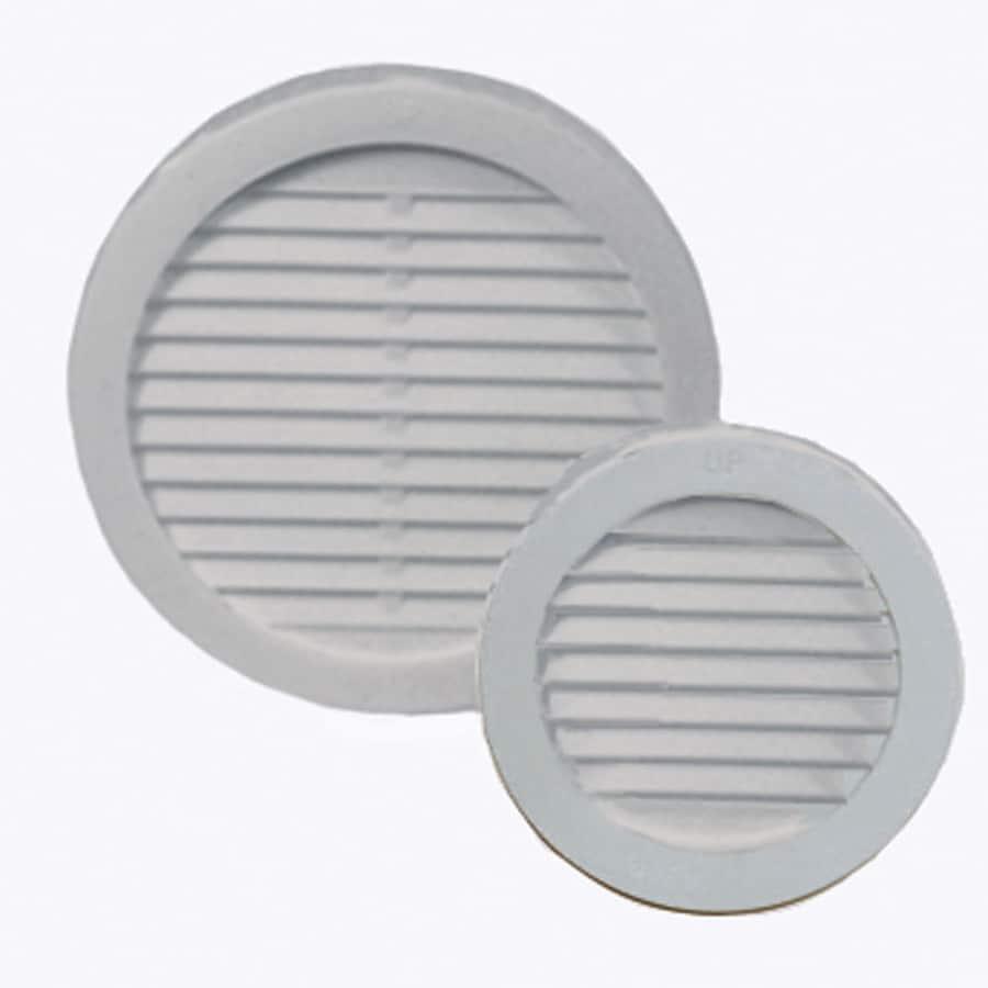 Master Flow Undereave 3-in L White Plastic Soffit Vent