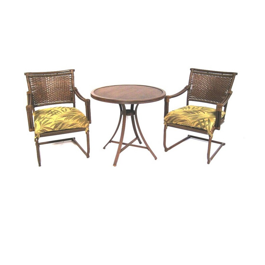 Shop Garden Treasures 3 Piece Tivanos Patio Furniture Set