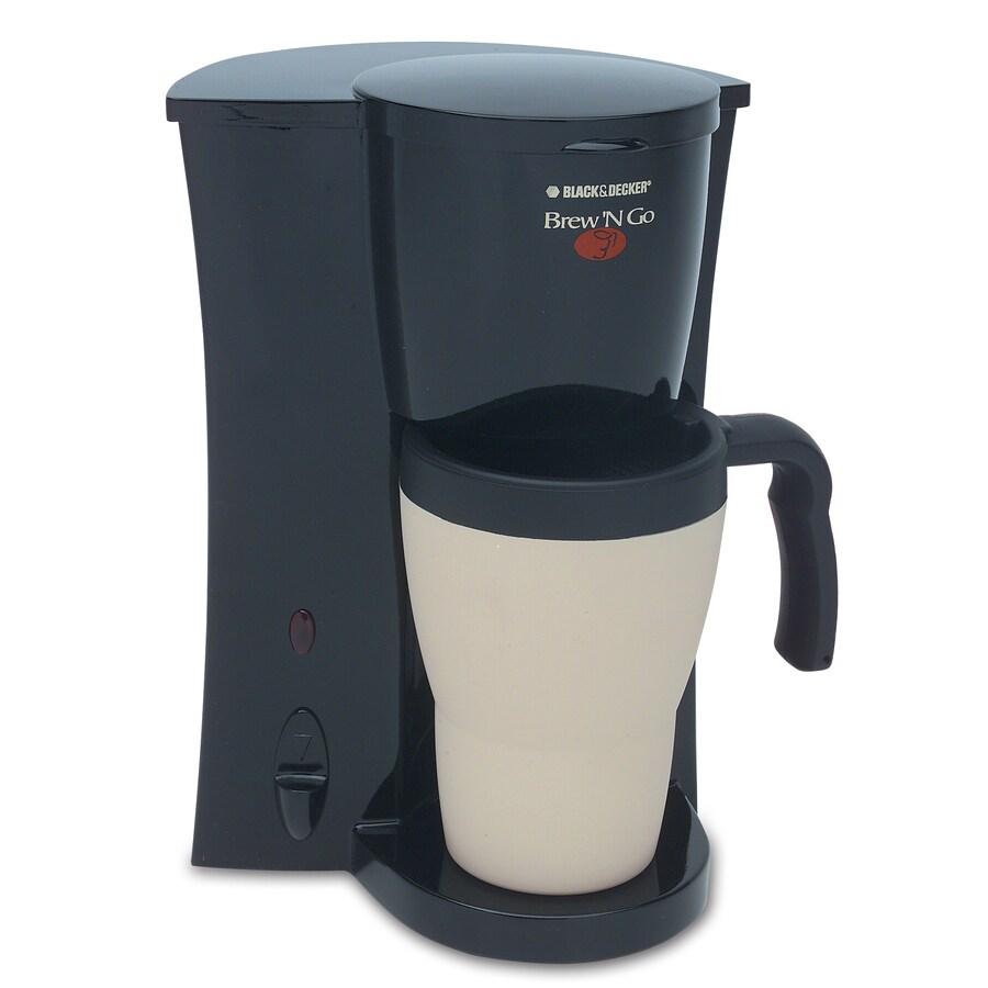 BLACK & DECKER Black Single-Serve Coffee Maker