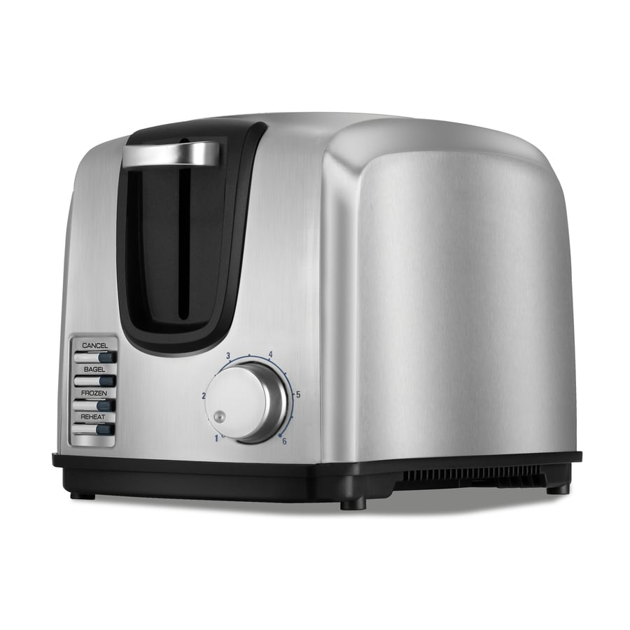 BLACK & DECKER 2-Slice Stainless Steel Toaster
