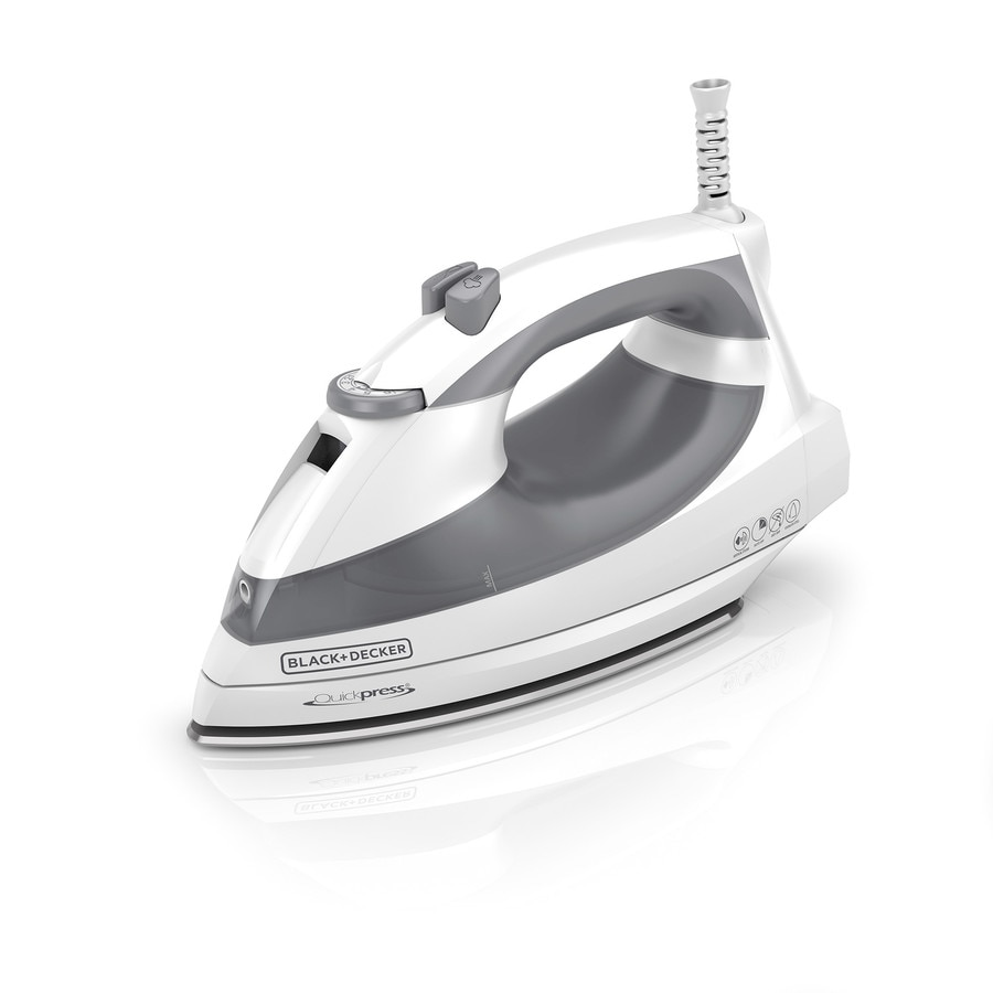 BLACK & DECKER QuickPress Auto-Steam Iron
