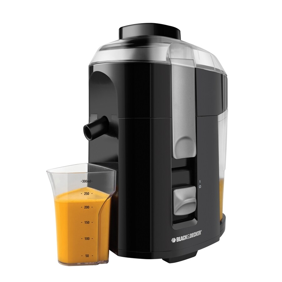 BLACK & DECKER 10-oz Black Juice Extractor