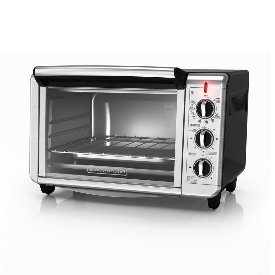 Black Decker To1640b Convection Oven 6 Slice Toaster Oven Apps ...