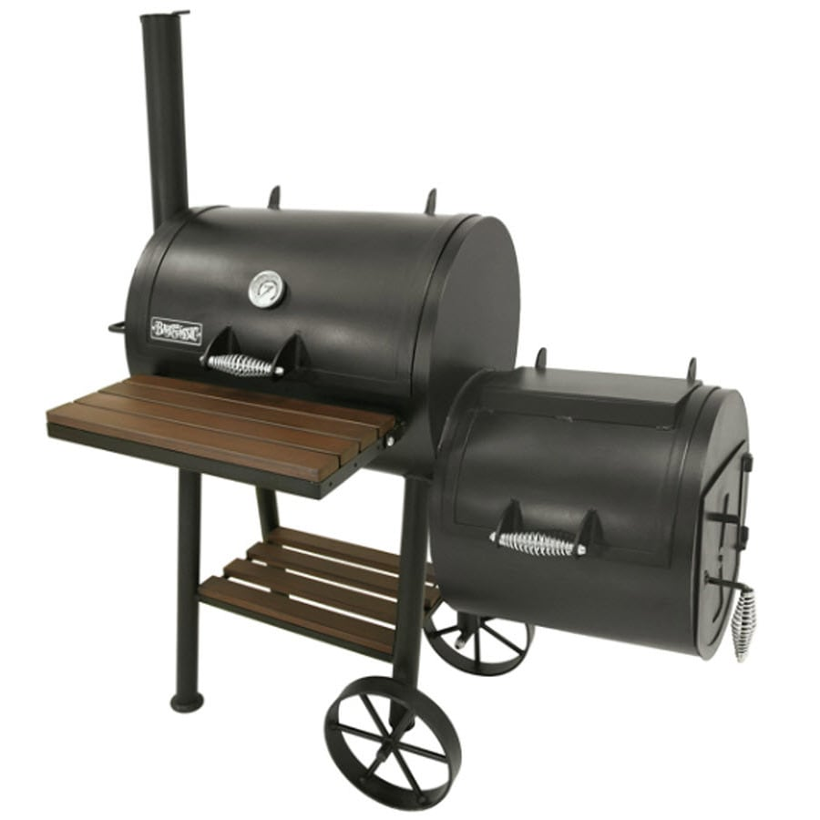 Bayou Classic 432 sq in Charcoal Horizontal Smoker