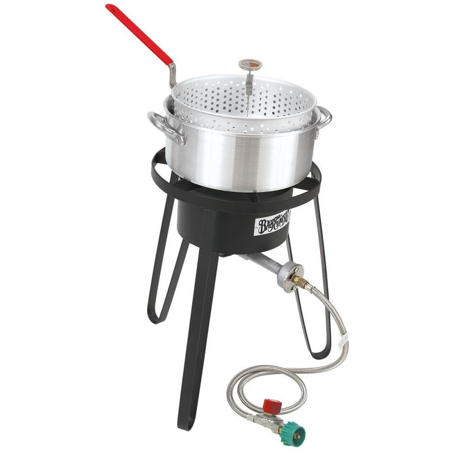 shop bayou classic 21 in 20 lb cylinder manual ignition