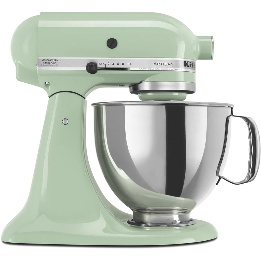 KitchenAid Artisan Artisan Series 5-Quart 10-Speed Pistachio Countertop Stand Mixer