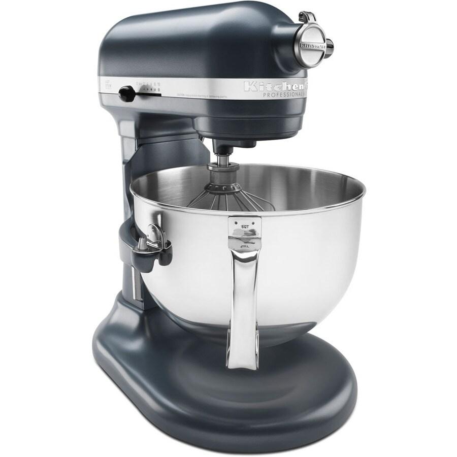 KitchenAid 6-Quart 10-Speed Blue Steel Stand Mixer