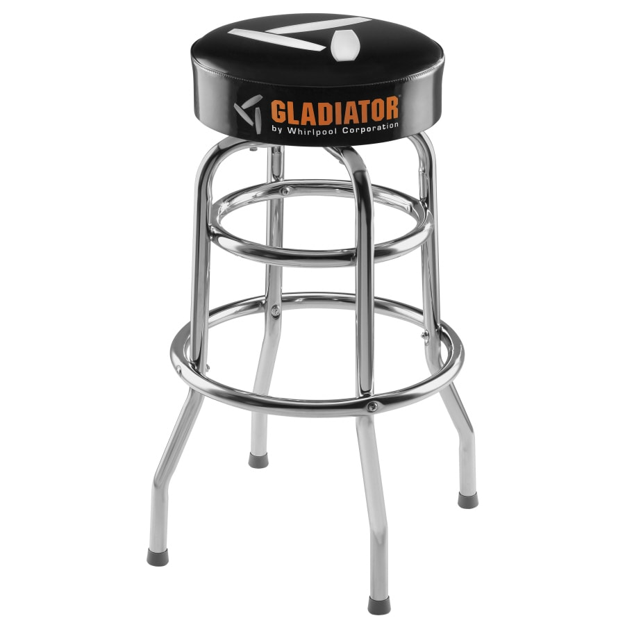 Shop Gladiator Workbench Stool 30 Height Swivel Seat At