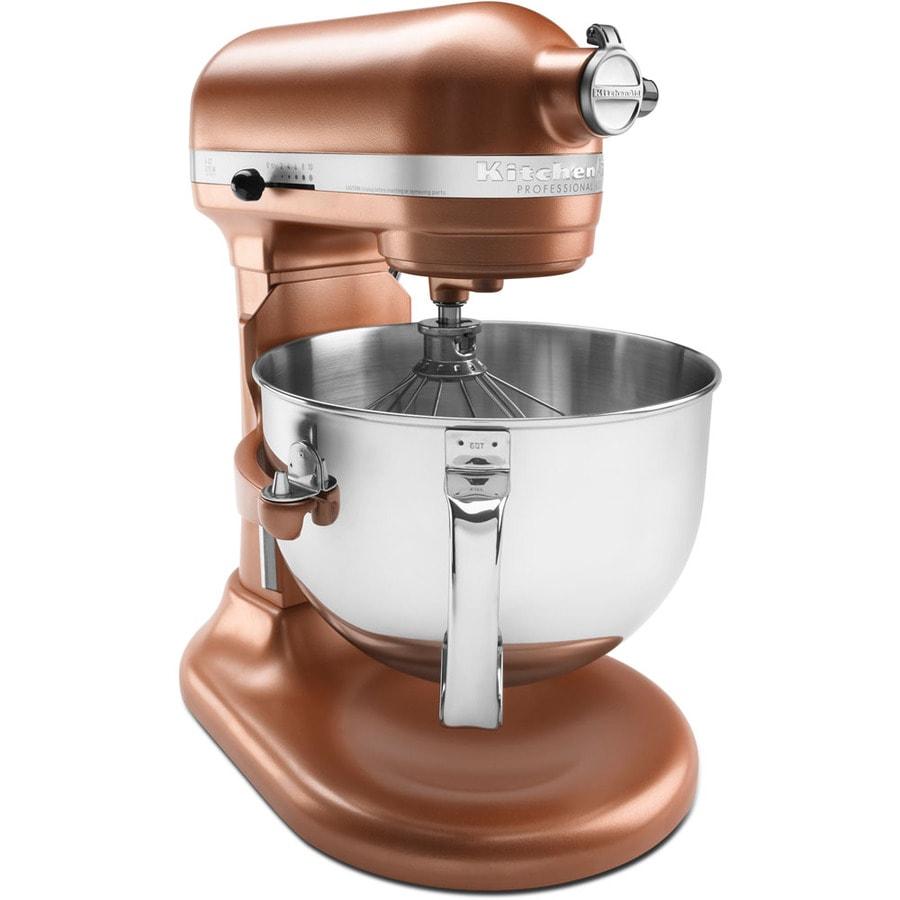 KitchenAid 6-Quart 10-Speed Copper Pearl Stand Mixer