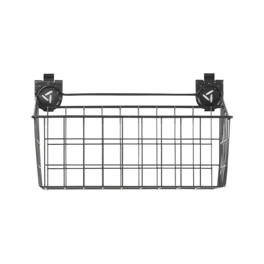 Gladiator 18-in W x 11-in H Gray Wire Garage Storage Basket