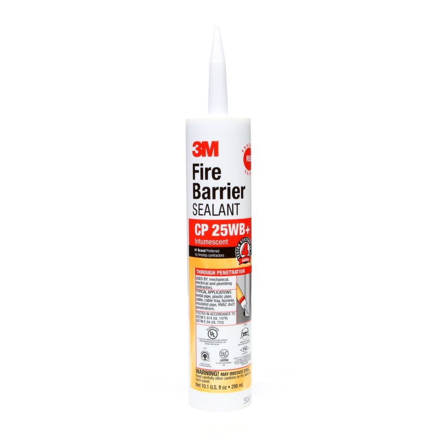 3M Fire Barrier 10.1-oz Red Paintable Specialty Caulk