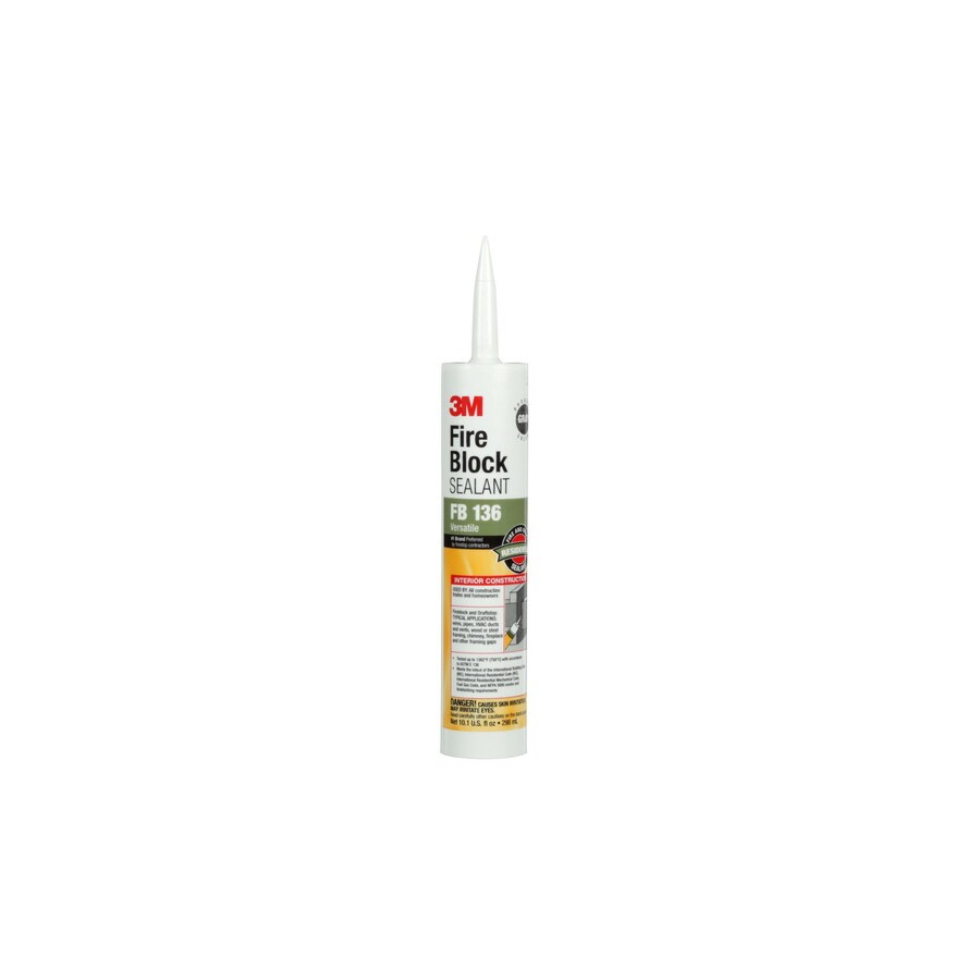 3M 10.1-oz Gray Specialty Caulk