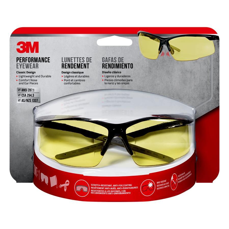 3M Performance Eyewear All Purpose Amber