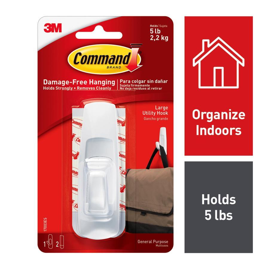 Command Plastic Adhesive Hook