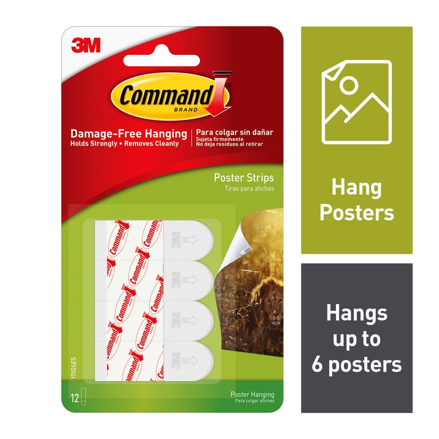 Command Picture Hanging Strips with Adhesive