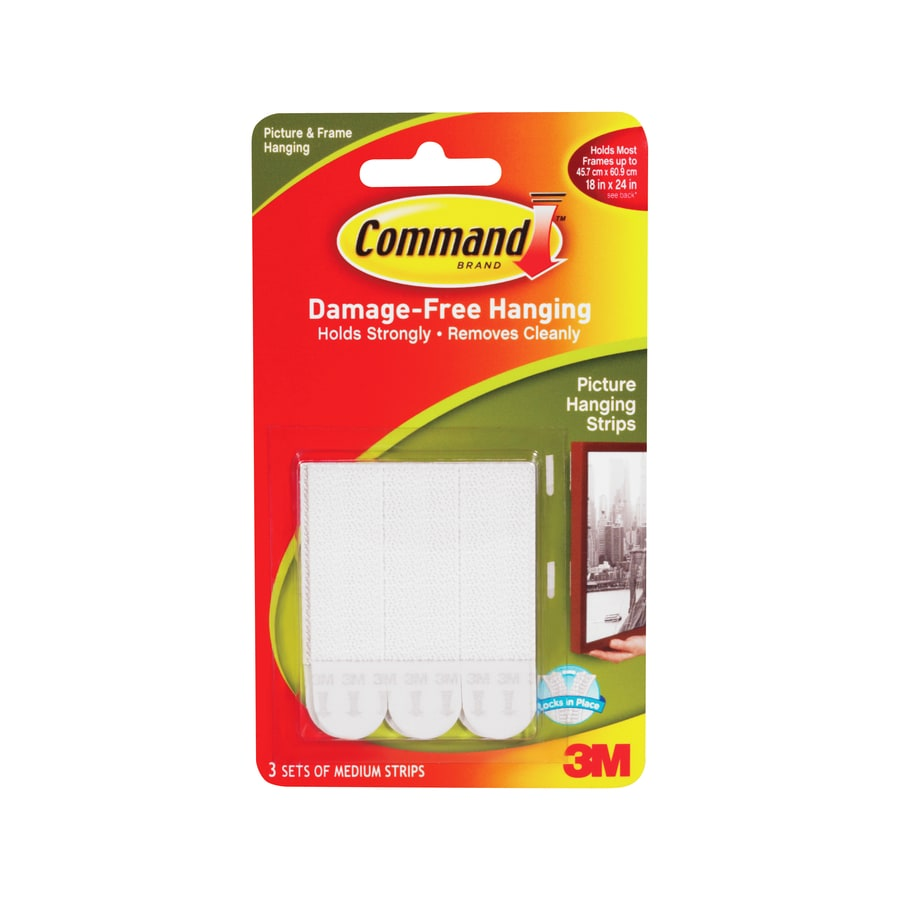 Command 3-Pack Mirror and Picture Hanging Fasteners