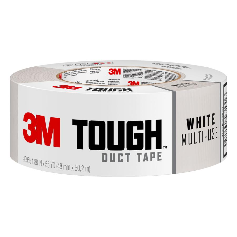 3M 1.88-in x 165-ft White Duct Tape