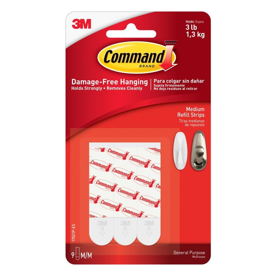 Command .625-in W Two-Sided Tape