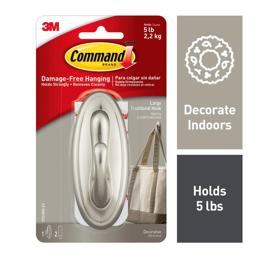 Command Plastic Adhesive Hook