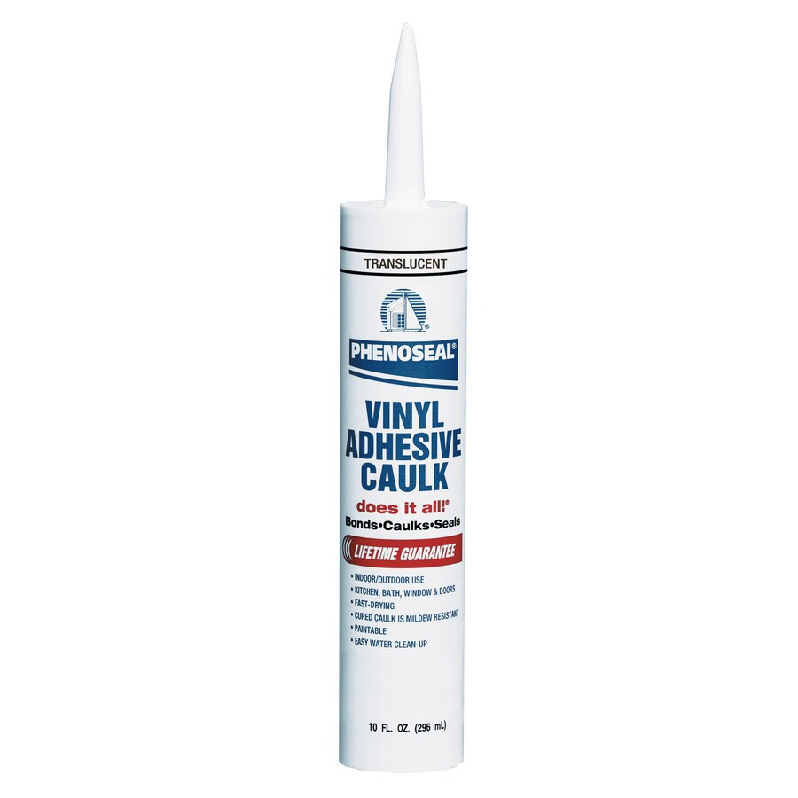 PHENOSEAL 10-oz Translucent Paintable Latex Specialty Caulk