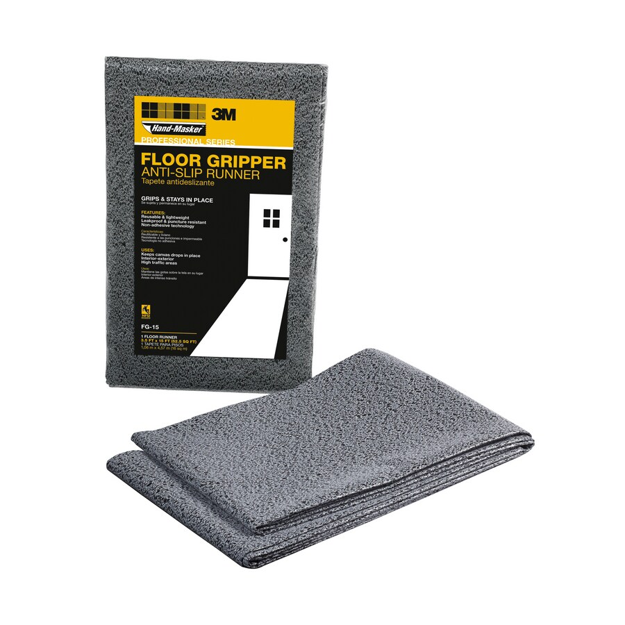 3M 12-oz Plastic Drop Cloth (Common: 3.5-ft x 15-ft; Actual 3.5-ft x 15-ft)