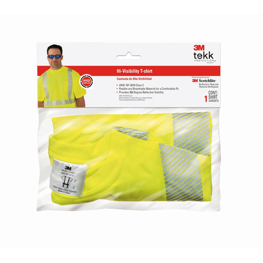 3M Fluorescent Yellow Extra Large T-Shirt