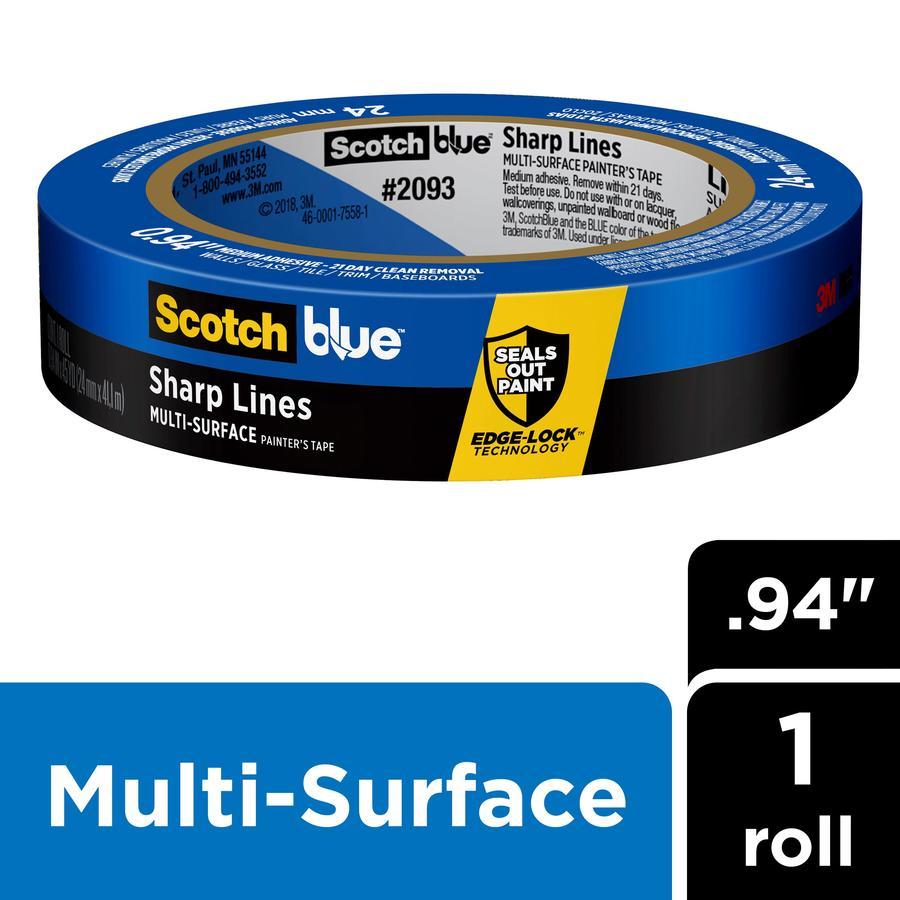 ScotchBlue 1-in x 180-ft Trim Painter's Tape
