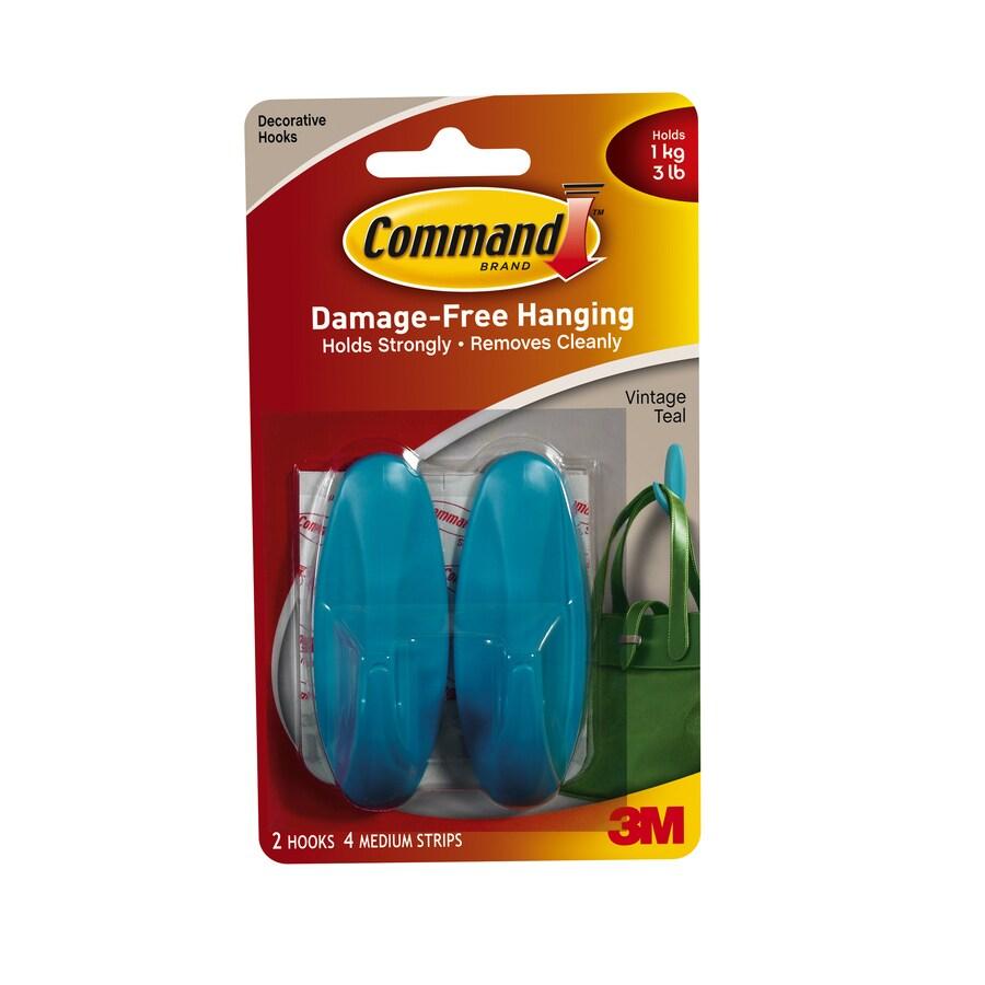 Command 2-Pack Adhesive Hooks