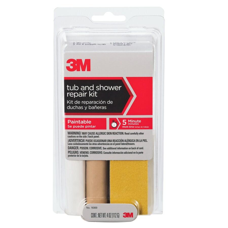 3M Caulk Tub and Shower Repair Kit