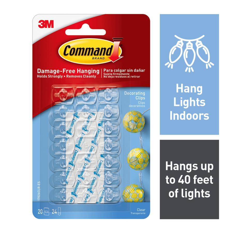 Command 20-Pack Adhesive Hooks