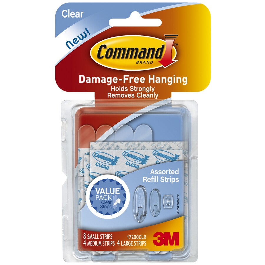 Command 16-Pack Adhesive Hooks