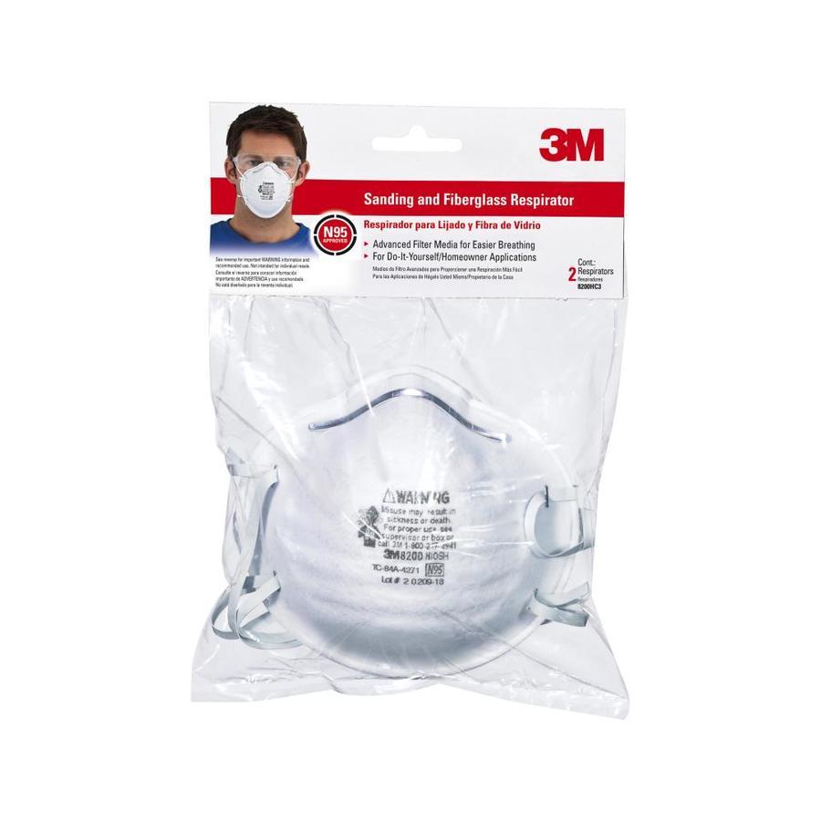 3M 2-Pack Sanding and Fiberglass Respirators